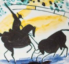 Ramie 197 Picasso Madoura Ceramic Picador And Bull