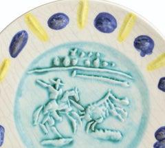 Ramie 202 Picasso Madoura Ceramic Bullfighter Picador