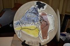 Ramie 417 Picasso Madoura Ceramic