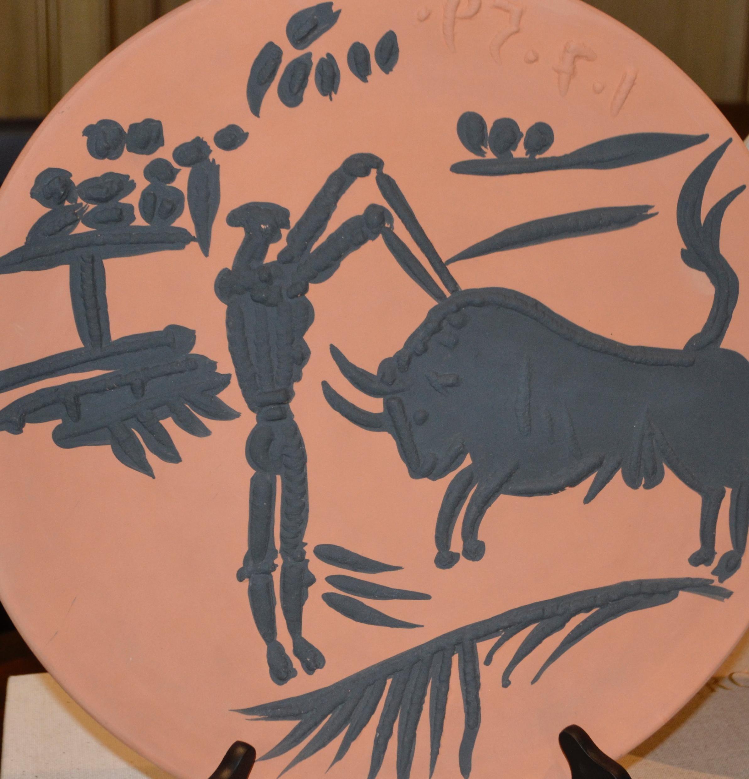 Ramie 427 Picasso Madoura Ceramic
