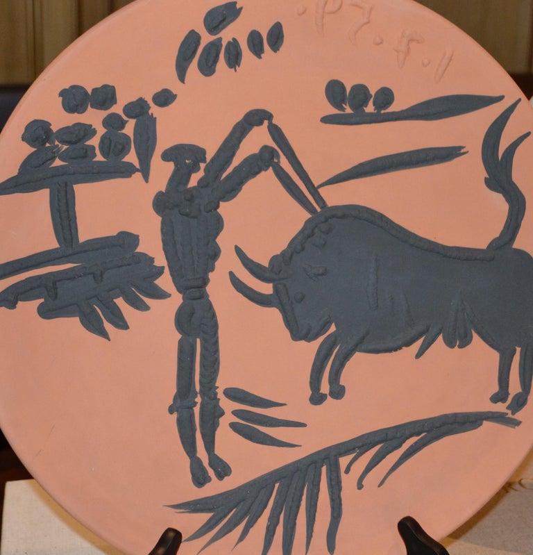 Pablo Picasso Still-Life Sculpture - Ramie 427 Picasso Madoura Ceramic