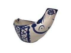 Sujet Poule Picasso Madoura Ceramic Ramie 250