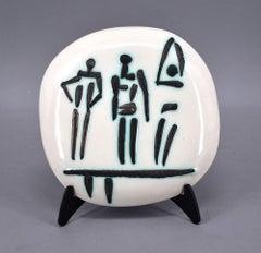 Trois Personnages sur Tremplin (Three Figures on a Trampoline), A.R. 375