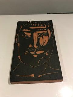 Visage D'Homme Ramie 539 Picasso Madoura Ceramic