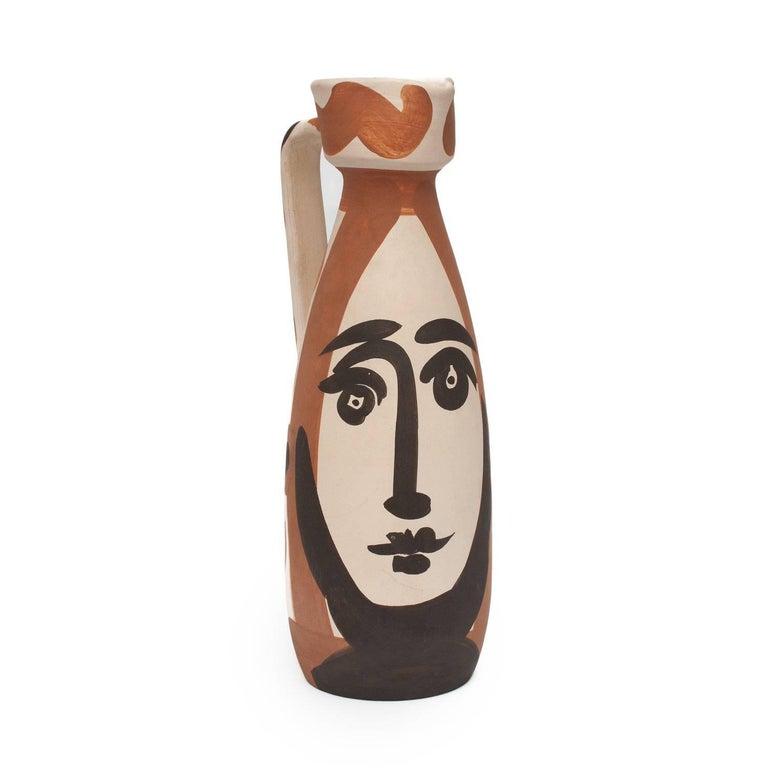 Ramie 288 Picasso Madoura Ceramic Visage  For Sale 1