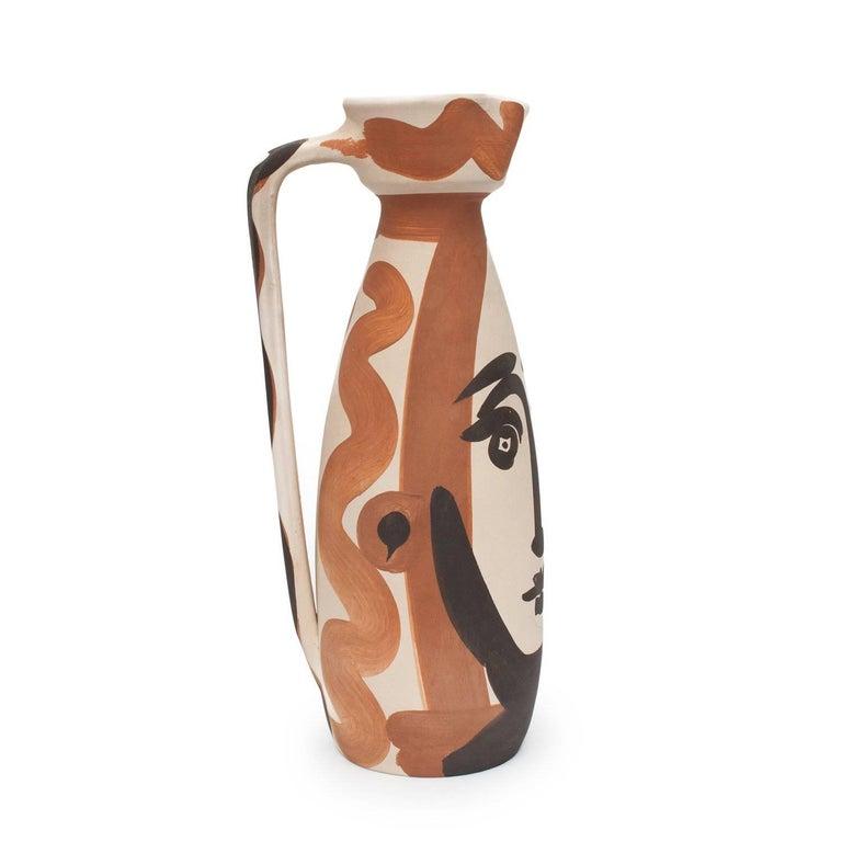 Ramie 288 Picasso Madoura Ceramic Visage  For Sale 2