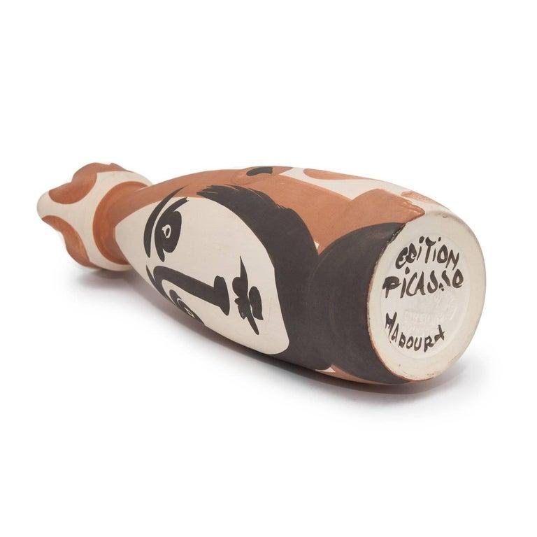 Ramie 288 Picasso Madoura Ceramic Visage  For Sale 3