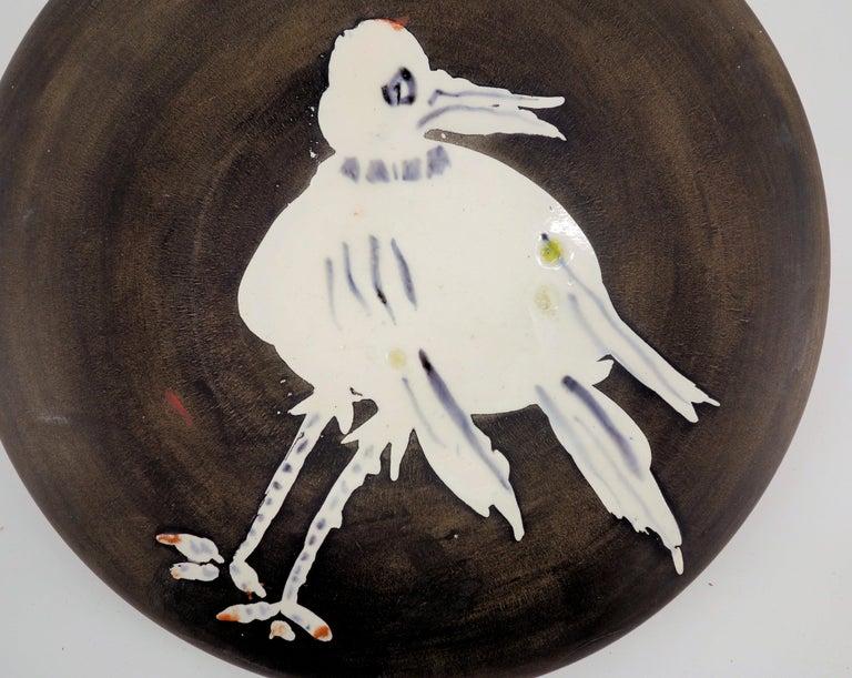 White Bird - Ceramic - 200 copies - Original ceramic Madoura (Ramié #486) - Modern Sculpture by Pablo Picasso