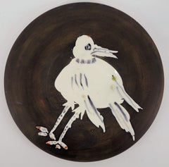 White Bird - Ceramic - 200 copies - Original ceramic Madoura (Ramié #486)