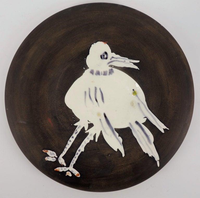 Pablo Picasso Figurative Sculpture - White Bird - Ceramic - 200 copies - Original ceramic Madoura (Ramié #486)