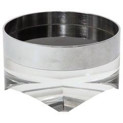 Pace Acrylic Bowl, Chrome