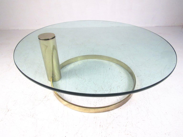 Mid-Century Modern Pace Collection Coffee Table by Leon Rosen For Sale