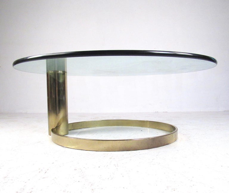 Pace Collection Coffee Table by Leon Rosen In Good Condition For Sale In Brooklyn, NY
