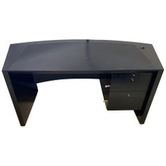 Pace Collection Ebonized Oak Desk, Part of a Collection for an Office