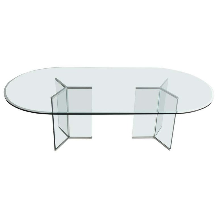 American Pace Collection Model 6060 Dining Table by Irving Rosen For Sale