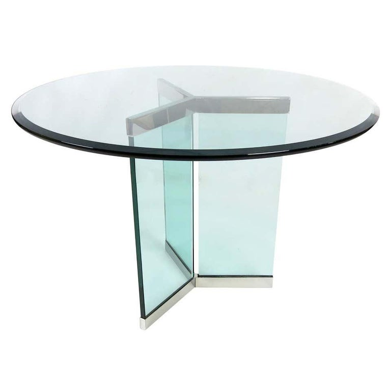 Late 20th Century Pace Collection Model 6060 Dining Table by Irving Rosen For Sale