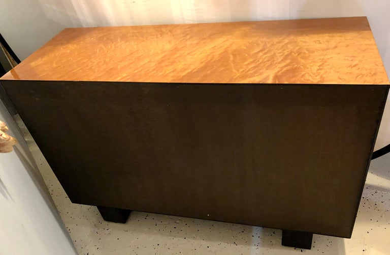 Pace Collection Modern Lacquered Server, Cabinet Console Mid-Century Modern Look For Sale 7
