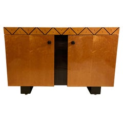 Pace Collection Modern Lacquered Server, Cabinet Console Mid-Century Modern Look