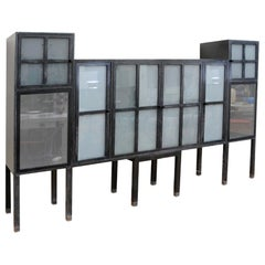 Pace Piombo Bauhaus Style Cabinet, Bar or Entertainment Centre