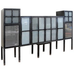 Pace Piombo Bauhaus Style Cabinet, Bar or Entertainment Centre