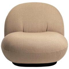 Pacha Lounge Chair, Black Semi Matt