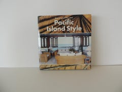 Pacific Island Style Hardcover Decorating Book by Glenn Jowitt and Peter Shaw