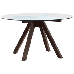 Pacini & Cappellini Naxos Dining Table in Glass by Dario Perego