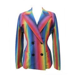 Paco Funada Rainbow Jacket 1980's