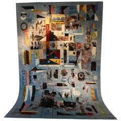 "Paco Pakdoust and John Murray, ""Oust"" Hand Knotted Art Carpet"