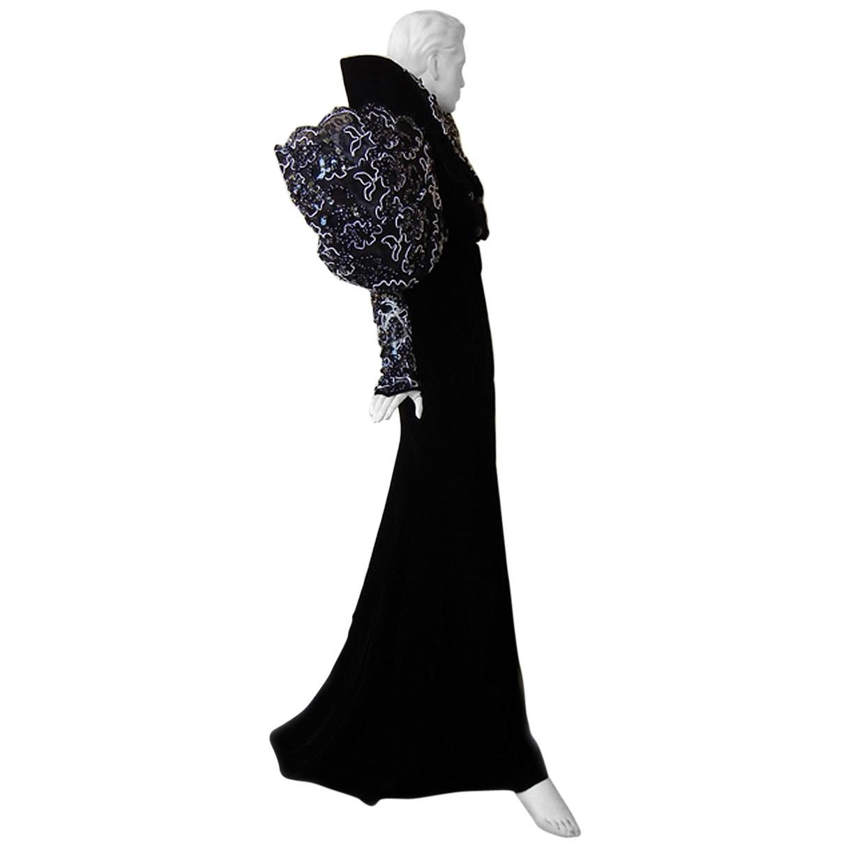 "Paco Rabanne 1985 ""House of Medici"" Haute Couture Gown     Museum Collectors"