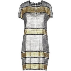 Paco Rabanne 60's Inspired Modern Version of Brigitte Bardot Chain Mail Dress