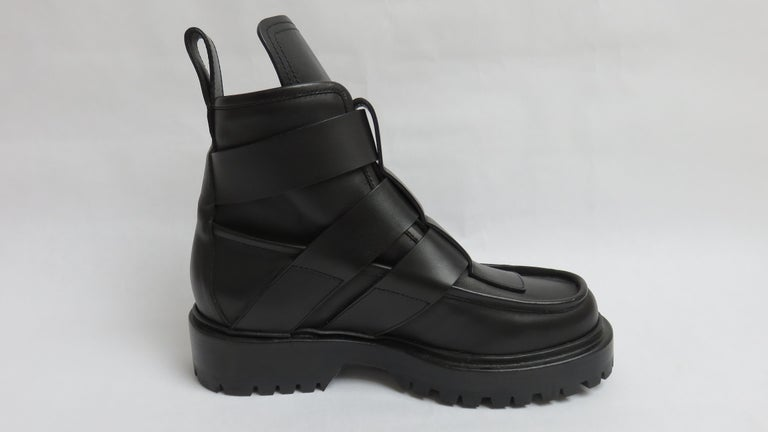 Paco Rabanne New Buckle Ankle Boots EU 37 For Sale 2