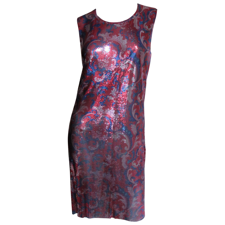 Paco Rabanne New Metal Mesh Dress