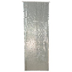 Paco Rabanne Silver Disk Space Curtain