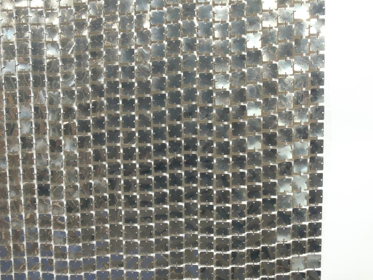 French Paco Rabanne Space Curtain or Room Divider For Sale
