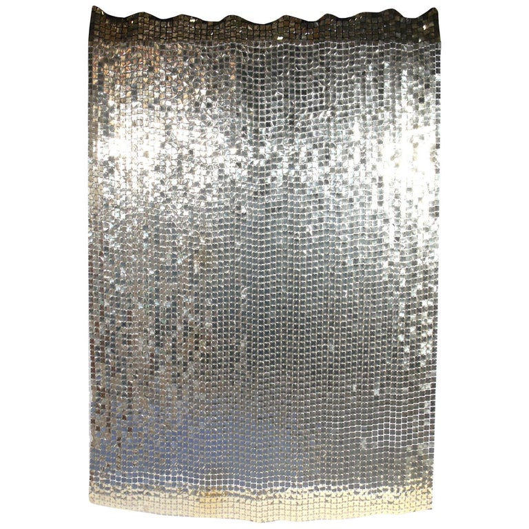 Paco Rabanne Space Curtain or Room Divider For Sale