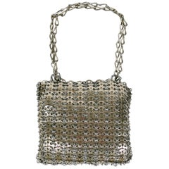 Paco Rabanne Vintage Iconic 1969 Metal Chain Mail Bag