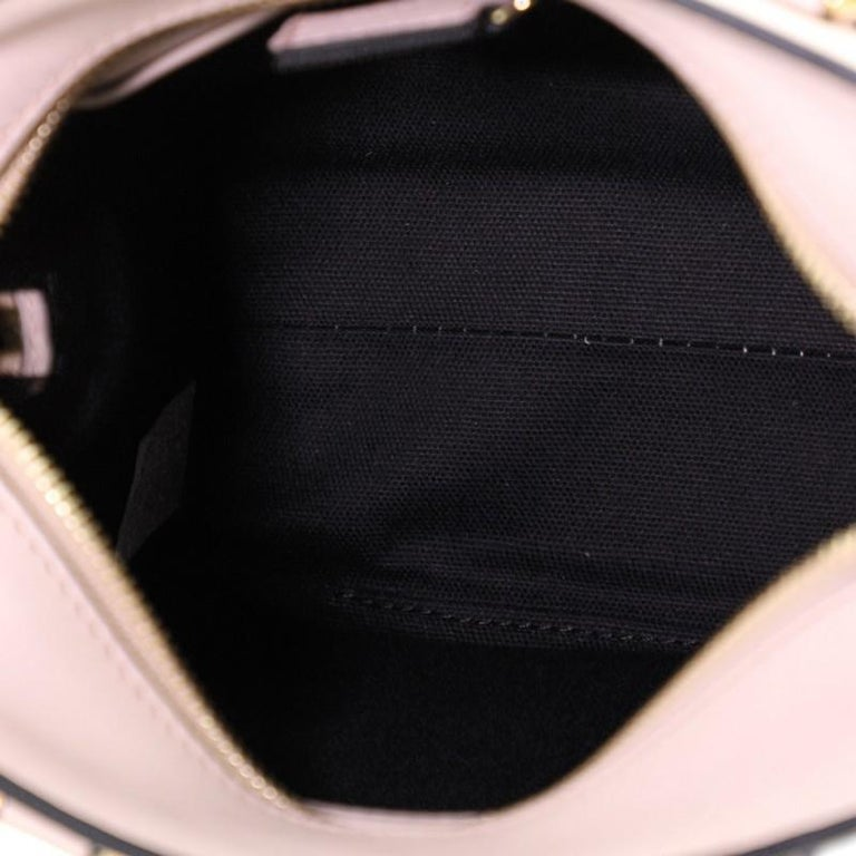 Padlock Zip Around Tote Leather Mini For Sale 1