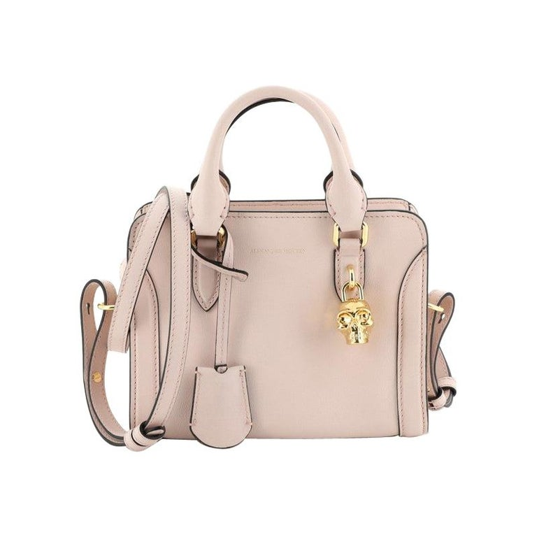 Padlock Zip Around Tote Leather Mini For Sale