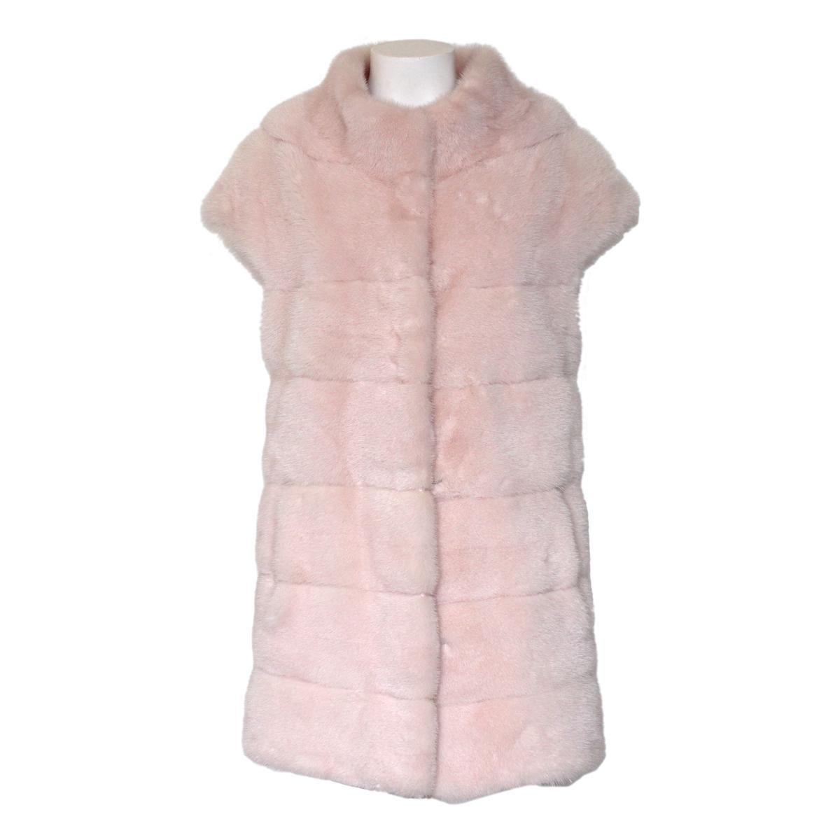 Pagano Porto Cervo Superior Pink Mink Vest