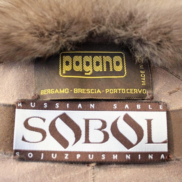Pagano Reversible Russian Zybeline Size S For Sale 1