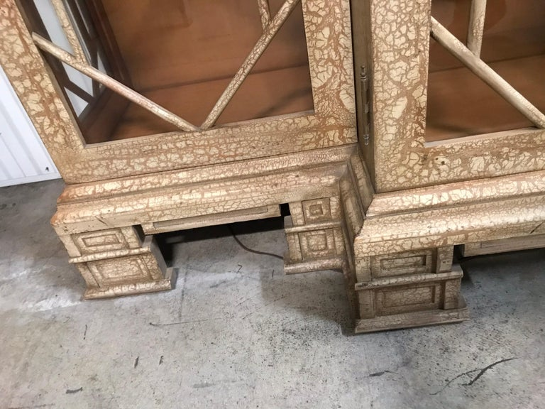 Pagoda Style Cabinet by Trouvailles For Sale 5