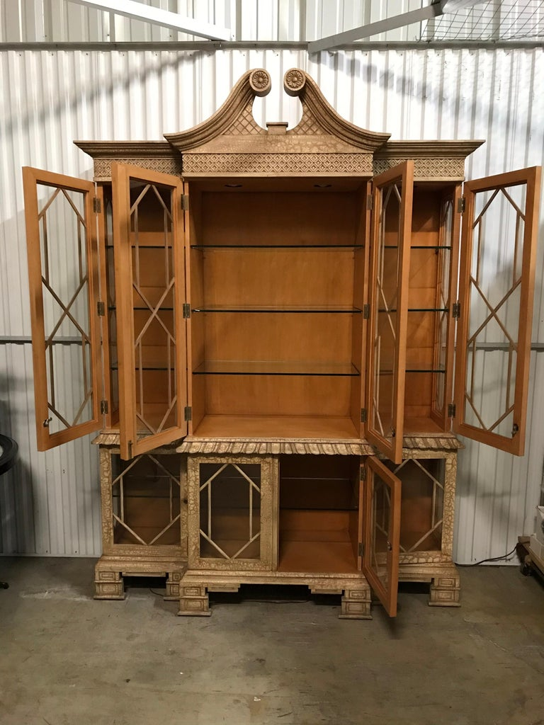 Pagoda Style Cabinet by Trouvailles For Sale 7
