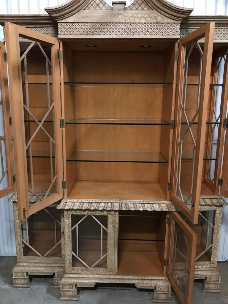 Pagoda Style Cabinet by Trouvailles For Sale 8