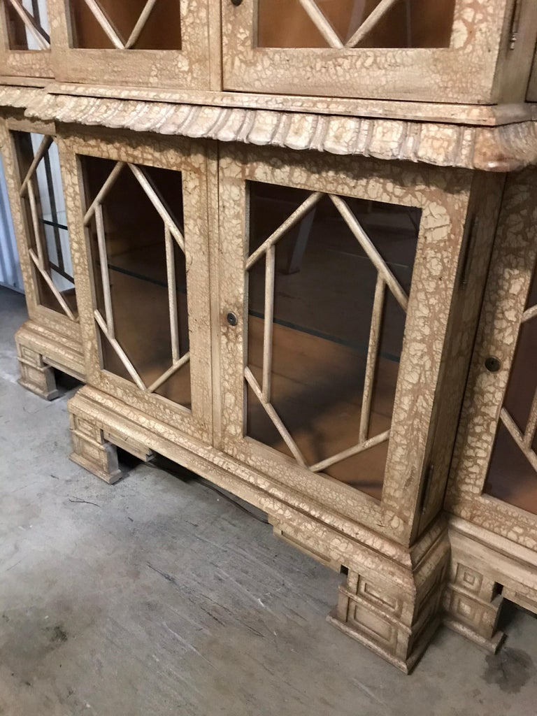 Pagoda Style Cabinet by Trouvailles In Good Condition For Sale In West Palm Beach, FL