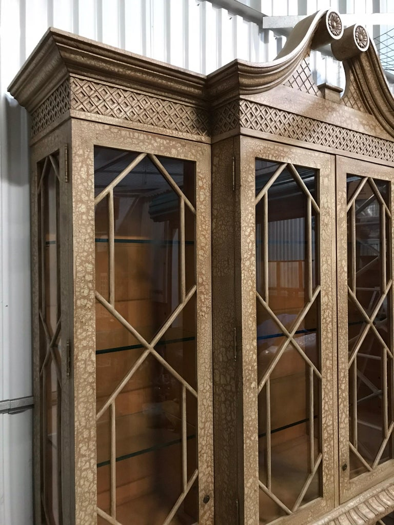 Pagoda Style Cabinet by Trouvailles For Sale 2