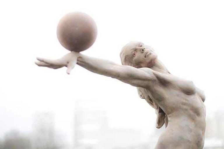 Balance. Half Life. - Sculpture by Paige Bradley