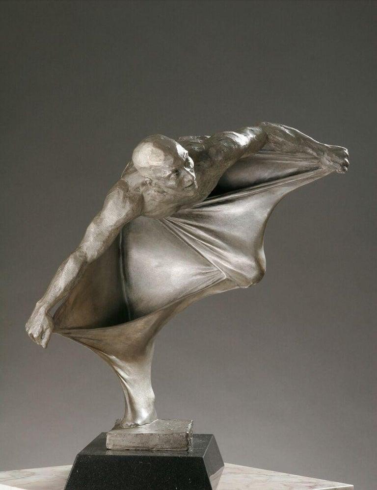 Paige Bradley Figurative Sculpture - Into the Light. By Paige BRADLEY.