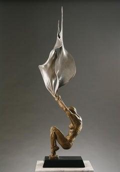 Paige Bradley. Conception. Bronze figurative sculpture.