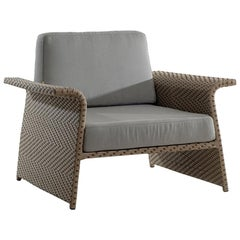 Paineiras Brazilian Contemporary Outdoor Armchair by Lattoog